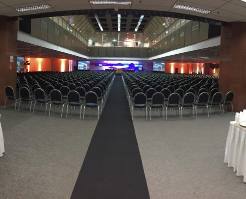 Auditório para 1000 pessoas