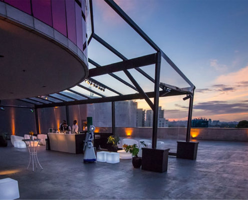 Eventos no Centro de Convenções Rooftop