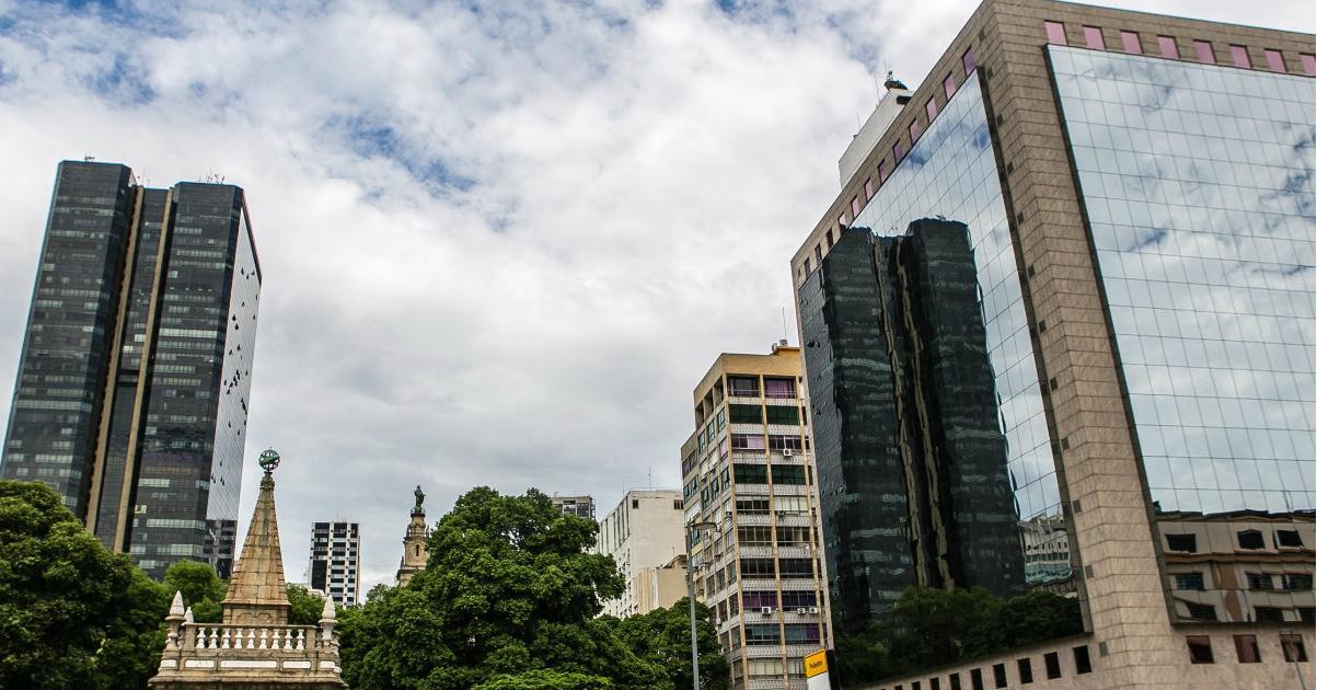 Espaço para eventos no Centro do Rio