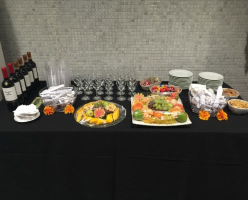 Catering do camarim do show do coldplay no maracanã