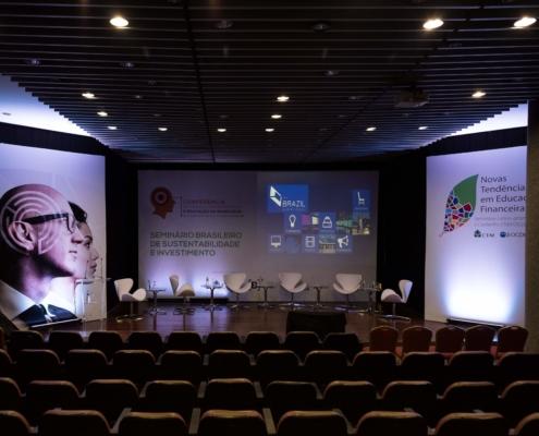 Evento no Centro de Convenções Bolsa do Rio